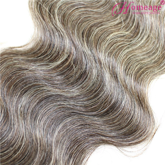 homeage gray human hair, hair extensions gray human hair, gray remy hair extensions