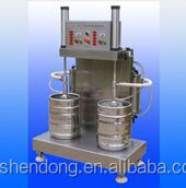 two-head beer keg washer&filler all in one machine