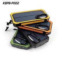 12000mah power bank portable solar charger for mobile