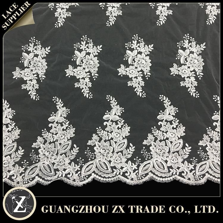 lace for lady clothes/garment, popular french lace fabric, high quality heavy swiss