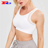 Wholesale Active Women Yoga Top Sexy Back Sports Bra Hot Impact Breathable Fitness Wear