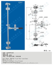 assembly shipping container door lock parts