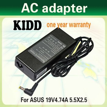 laptop charger ac adapter 19v4.74a for asus