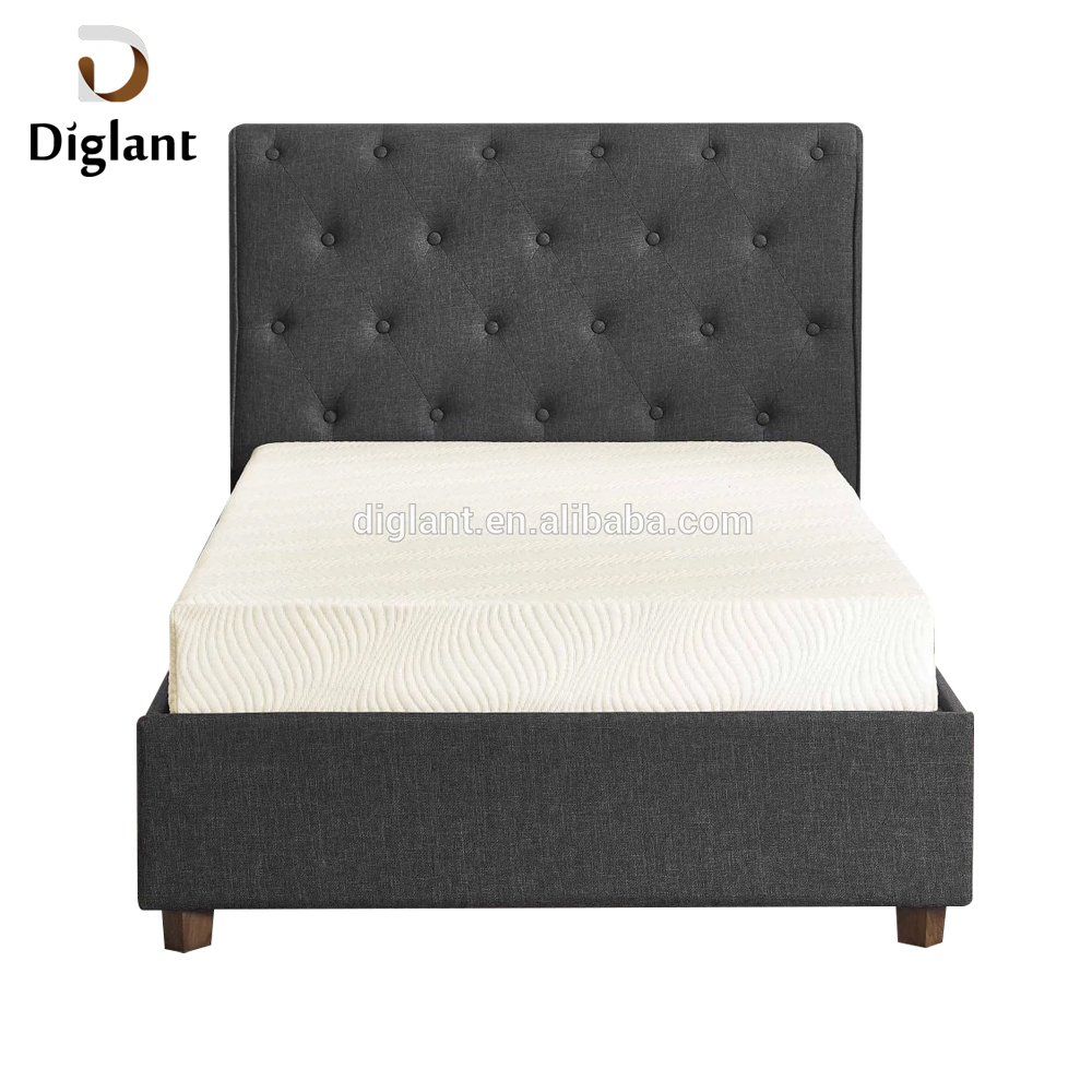 DM043 Diglant Gel Memory Latest Double Fabric Foldable King Size Bed Pocket bedroom furniture mattress for hospital bed - Jozy Mattress | Jozy.net
