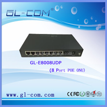 8 Port POE ONU Optical Network Unit GEPON EPON MDU
