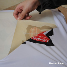 70,100gsm Anti Ghost Full Tacky, heavy Sticky Sublimation Transfer Paper for Sportswear