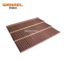 Cheap long span used corrugated asphalt metal ibr roofing sheet/guangzhou Wanael roof tile/best metal roof