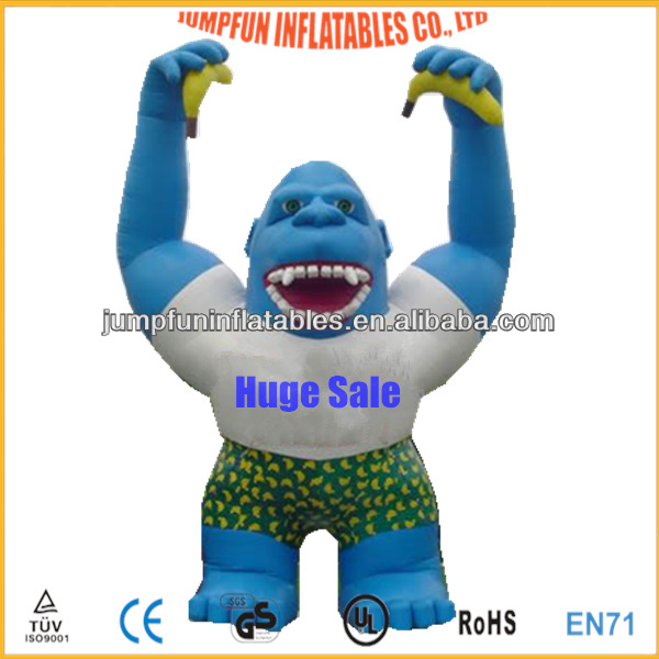 Giant Gorilla for advertising and promotion inflatable model