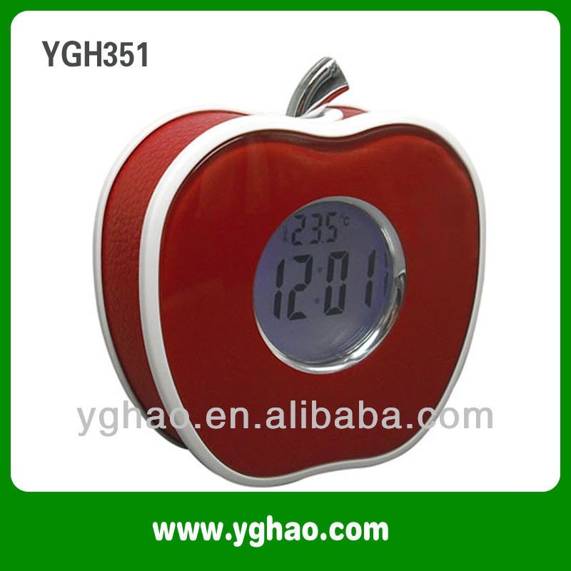 YGH351 China LED Night Light Speaking chime alarm clock