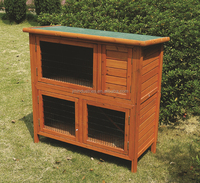 folding wooden rabbit house / large wooden rabbit run / pet cage