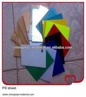 pp recycled polystyrene mirror sheet