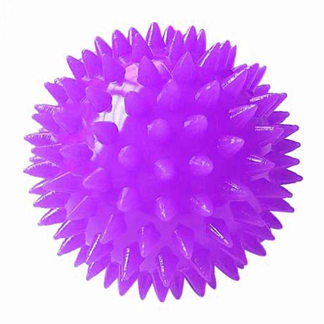 Hand silicone soles hedgehog Sensory training grip Rubber massage <strong>ball</strong>