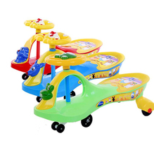 Go Toy Car ride on car , plastic push swing car for kids with , 360 degree wheels ride on toys cheap kids swing car