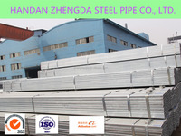 HDG/Hot dip galvanized SQUARE AND RECTANGULAR STEEL PIPES/tubes GI Pipe 20*20-500*500