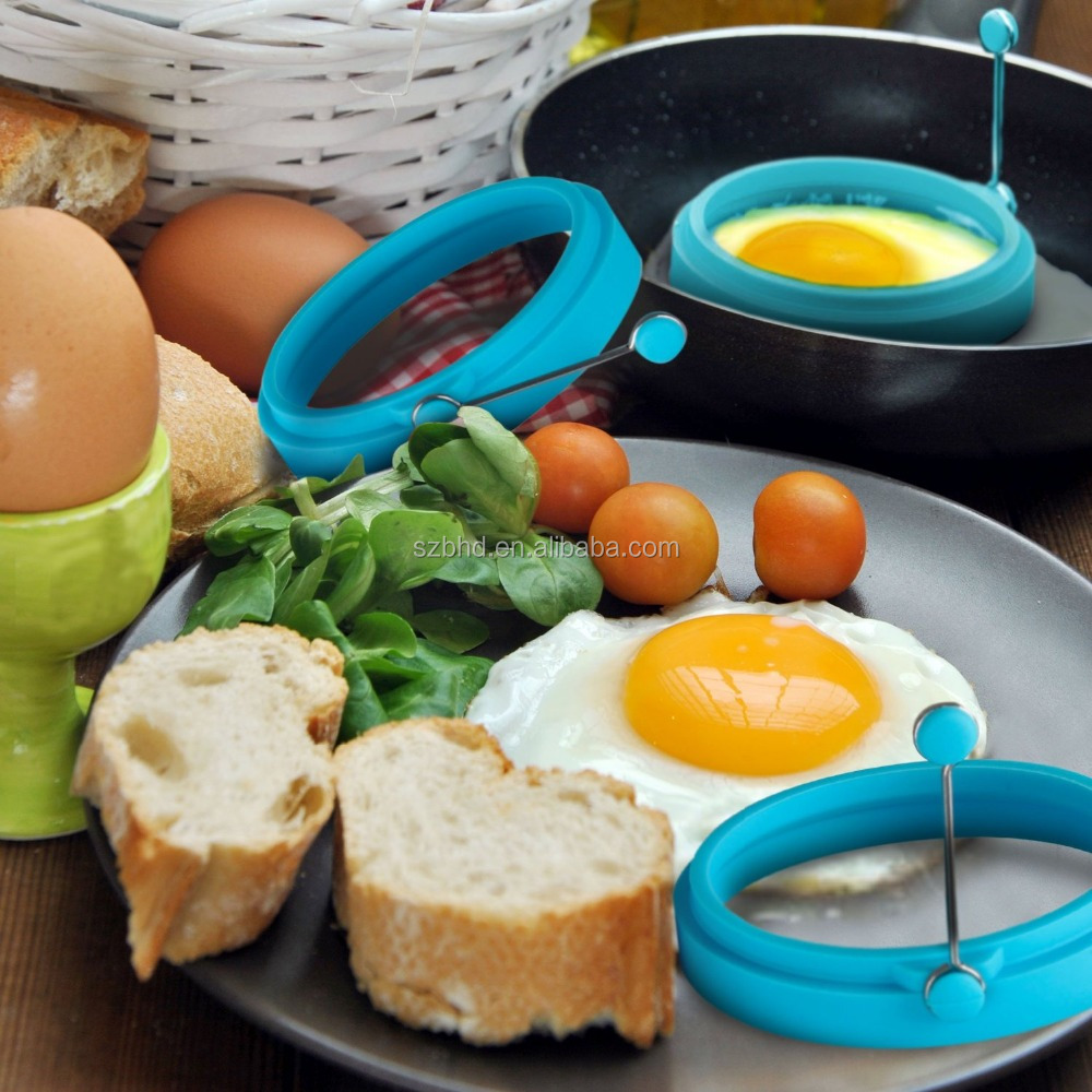 Silicone Egg Ring / Silicone fried Egg Former / Silicone Fried Egg Molds