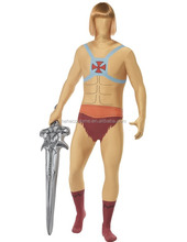 Adult He-Man Second Skin Suit Costume