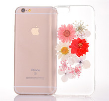 Latest 5G Mobile Phone Case Phone Cover Acrylic Flower Case For Iphone 8