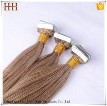8A 10A Top Grade fast shipping indian virgin remy tape hair extension
