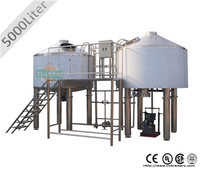 5000L good quality commercial brewhouse with CE