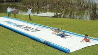 Export standard quality CE vivid giant inflatable water slide for sale