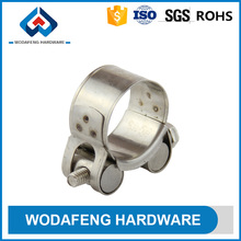 stainless steel gas pipe german clamp