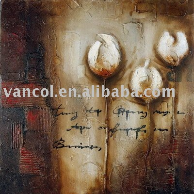 Wholesale cheap abstract oil painting on canvas african art