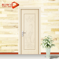 Moulded door skin for pvc door