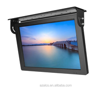 Monitor 22 led advertising bus roof monitor 3g touch screen tv media player android system panel