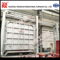 ISO9001 heating resistance furnace for Solid solution heat treatment
