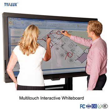 55 Inch All In One Multimedia Teaching Machine Portable Touch Whiteboard