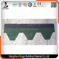 China High Quality Building Material 3 -tab Double Layer Tiles Asphalt Roof Shingle
