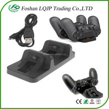 Dual USB Charging Charger Docking Station Stand for Playstation 4 for PS4 Controller Charging Station