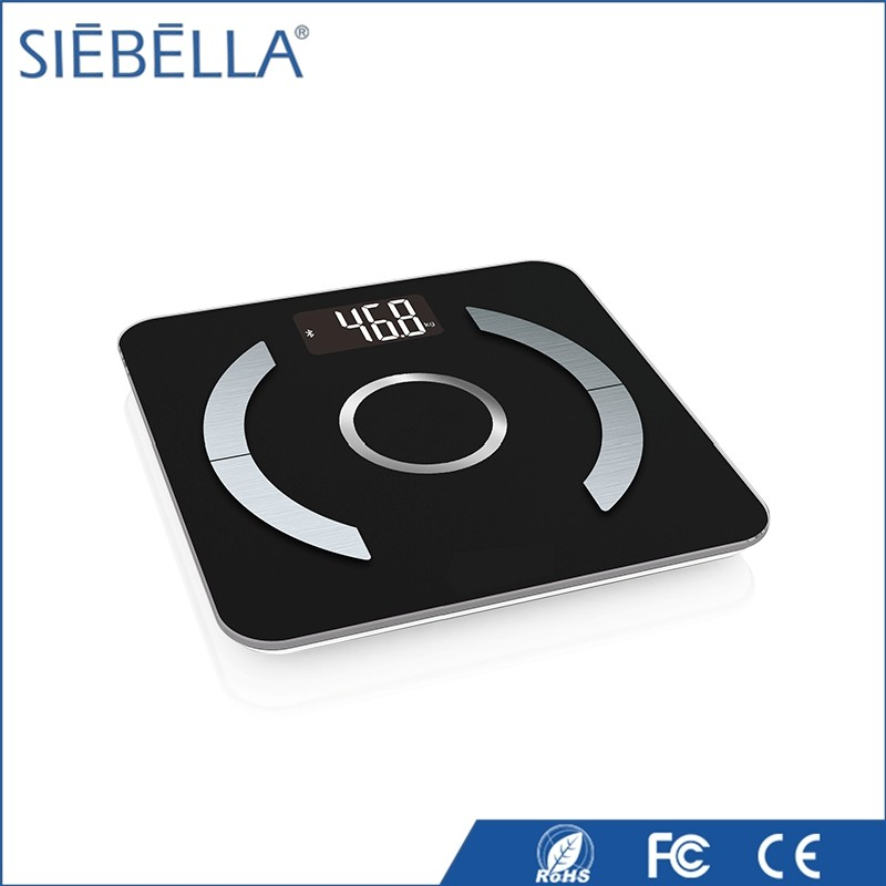 2017 Newest bluetooth smart weighing scale with body fat function