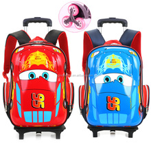 China manufacturer bulk wholesale promotional exquisite boy school bag trolley
