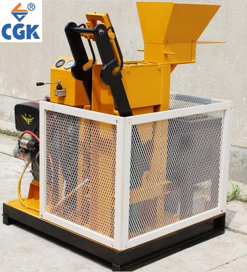 CGK ecological block machine clay roof tiles small size interlocking wall blocks 1-25 in Europe