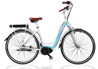 Hot products!Popular Brushless Lady City Electric Bike