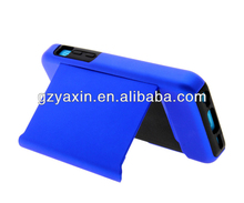 New arrival silicon case for iphone 5c with credit card flip