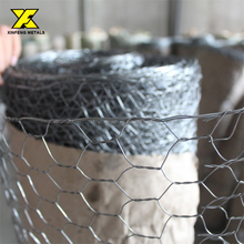 China Real Factory hexagonal wire mesh/ Hexagonal Wire Netting / chicken mesh lowest price best quality