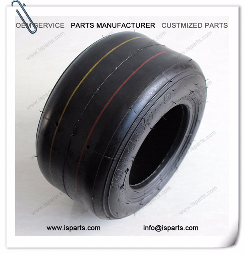 "pedal go kart tyres 10x4.5-5"" for racing go kart"