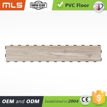 alibaba europe office high gloss anti bactria anti fire voc free oak wood grain click pvc sports plank flooring