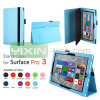 Leather Folio Case Cover For Microsoft Surface Pro