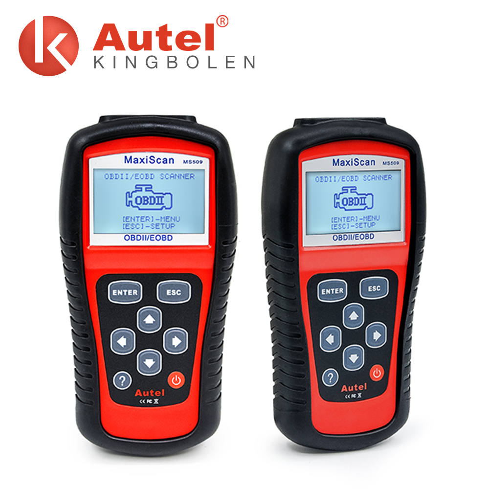 2017 Original Autel MaxiScan MS509 diagnostic code readers automotive scan tools for sale