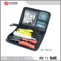 LY-TK32 Fiber Optical Cable Inspection tool Kit and Optic Network Maintenance Tool Kit