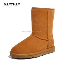 2015 women faux suede ankle boot snow boot boots shoes