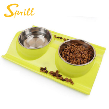 SPRILL Cheap best quality Dog Cat portable pet travel drink bowl