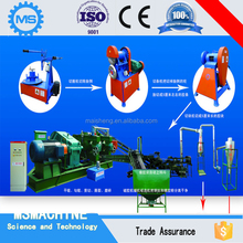 Rubber cutter machine/rubber cutting machine/wasted tire recycling machine for rubber powder