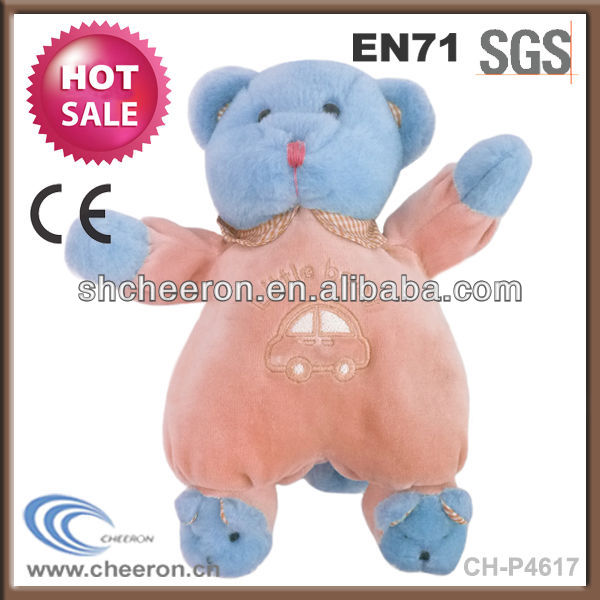 Lovely child toy Plush bear with clothes