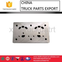 Sinotruk HOWO truck part double-cylinder air compressor cylinder head valve plate