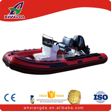 4.2m inflatable Hypalon boat wtih aluminum floor