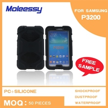 Indurative rugged silicone case for samsung galaxy tab 3 lite 7.0